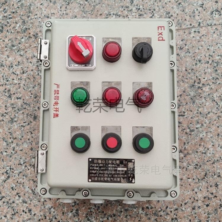 自动混合机防爆控制箱