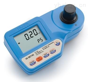酸度余氯总氯总硬度铁多参数测定仪
