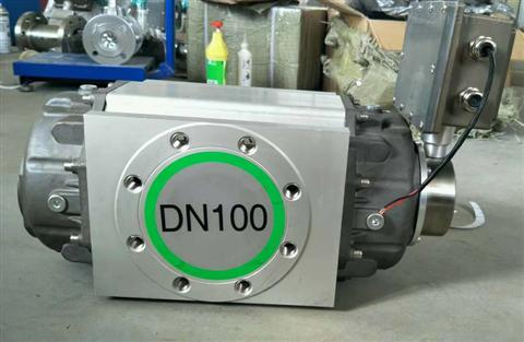 DN100气体腰轮流量计说明