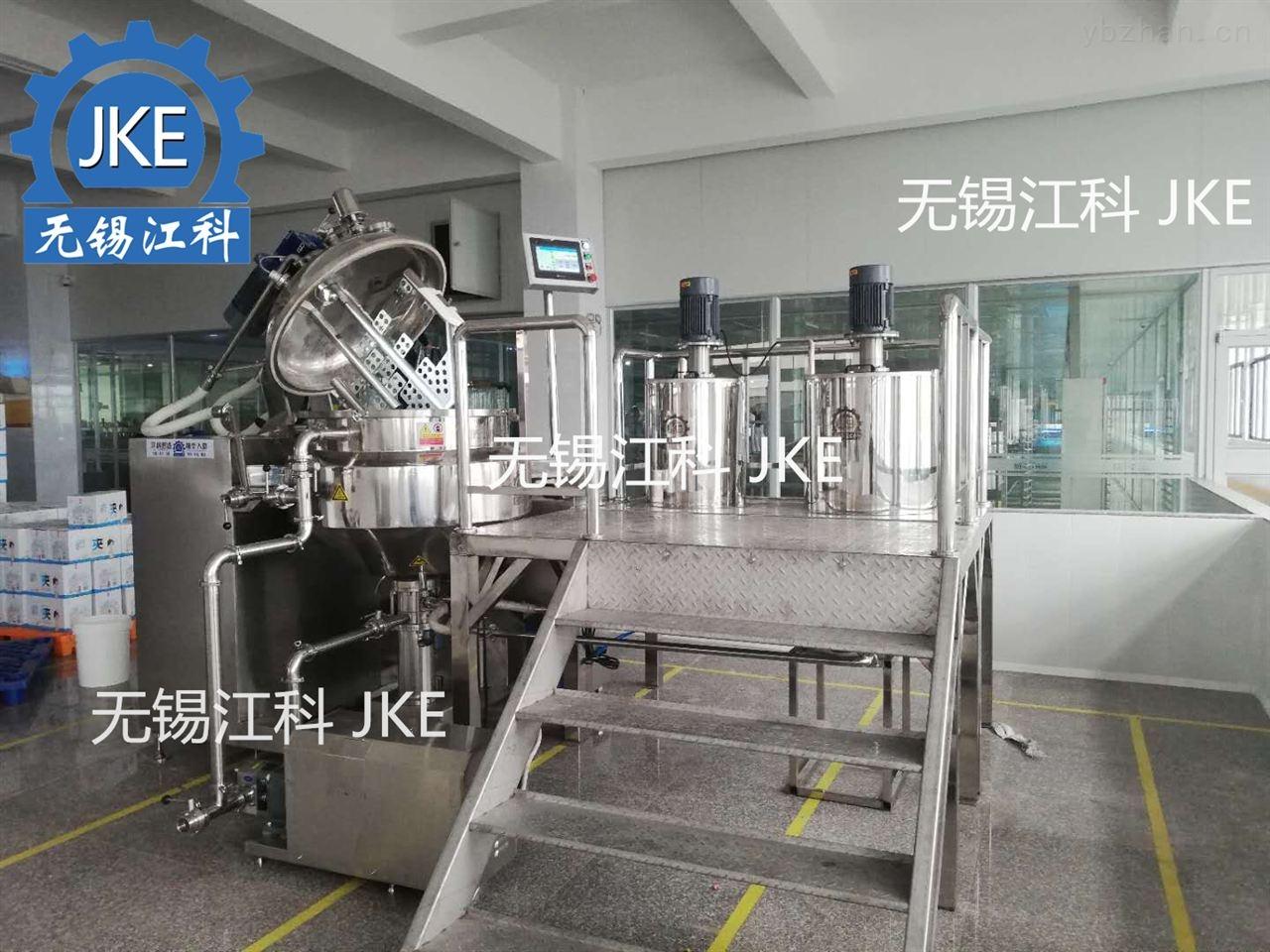 艾迪科-西点酱用乳化机生产设备