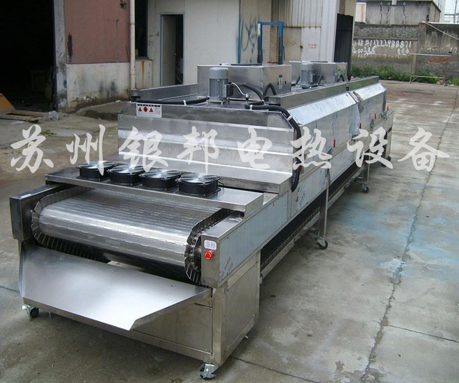 五金电镀件热处理专用隧道式烘箱 连续烘干隧道式烘干机