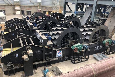 广东洗砂机生产批发茂名高效节能洗沙机产地