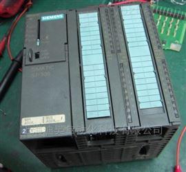 西門子PLC模塊300CPU上電全部燈都亮維修