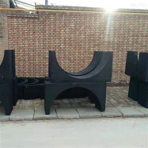 大型中央空调水管道木托 专业生产厂家