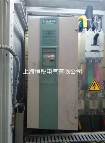 西门子6RA70直流调速器上电屏幕不亮