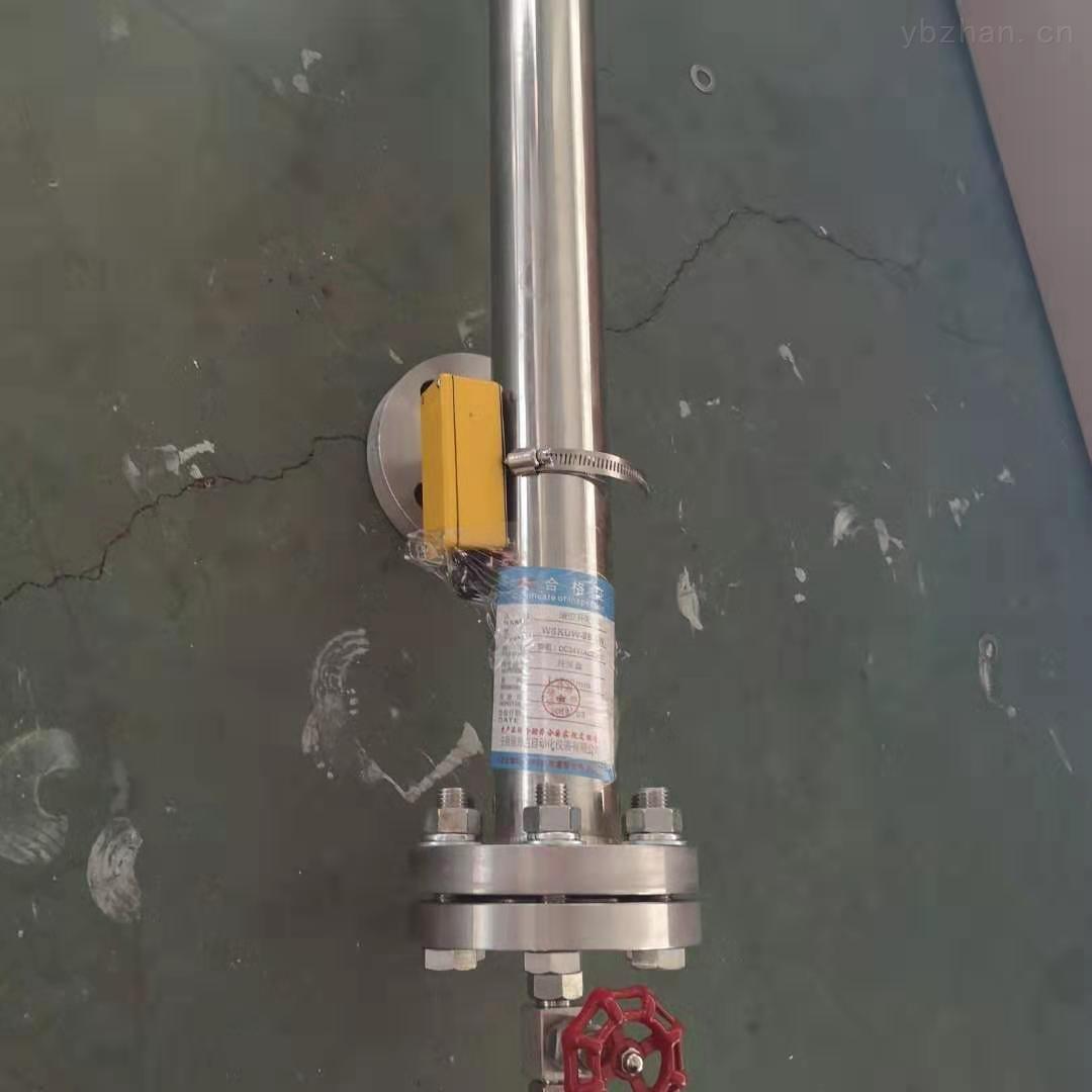 二甲醚防爆磁翻板液位计DN20法兰