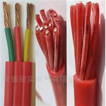 ZR-YGCB-0.6/1KV-3*25+1*16硅橡胶扁电缆