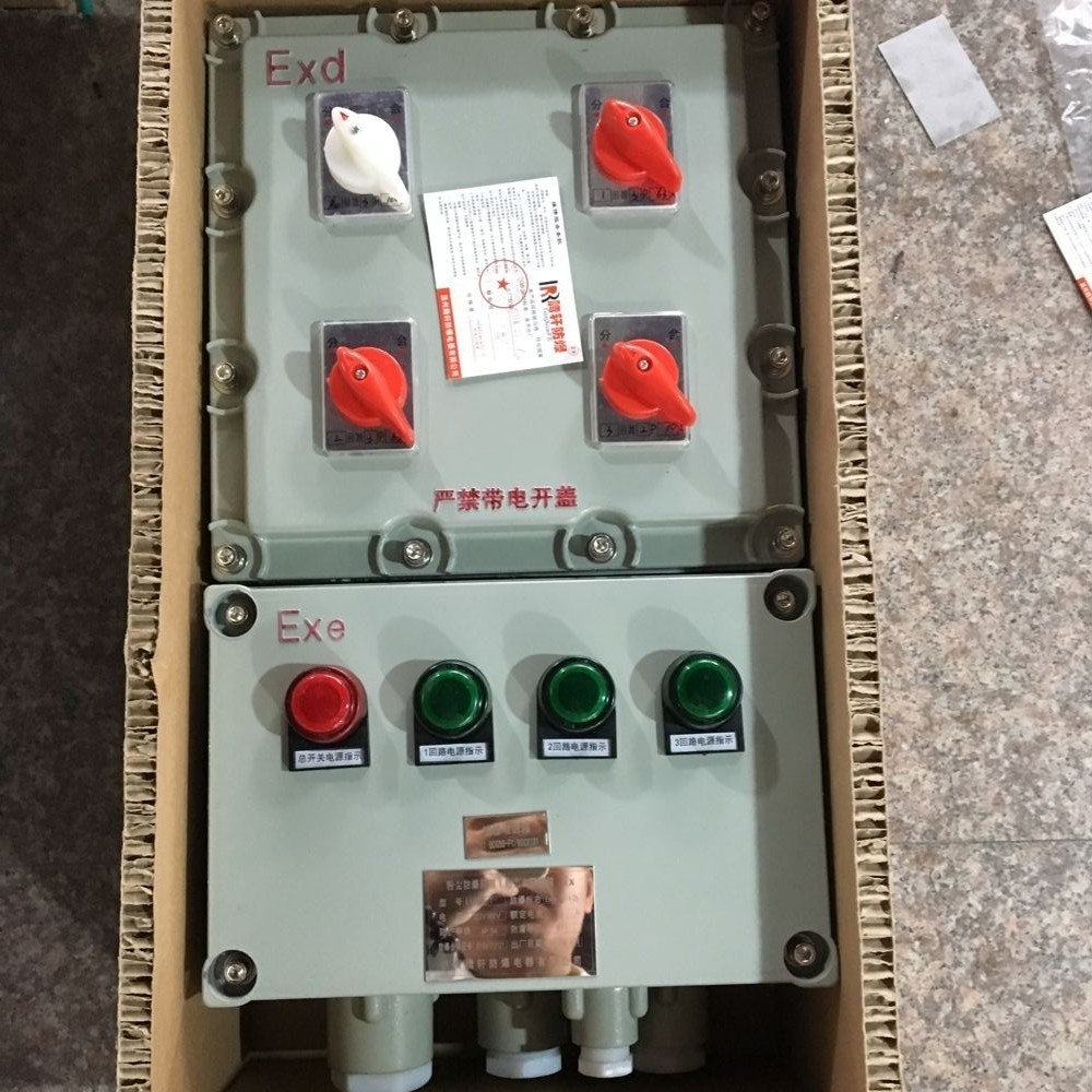BXK-化工用搅拌机防爆控制箱
