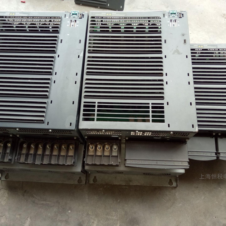 变频器开机报警F0001不能复位故障修好可试