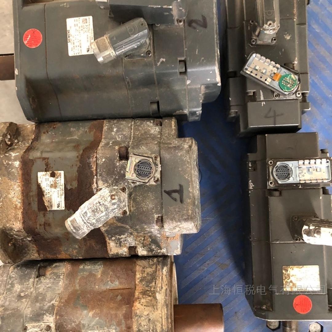 西门子伺服电机一通电就跳闸当天能修复