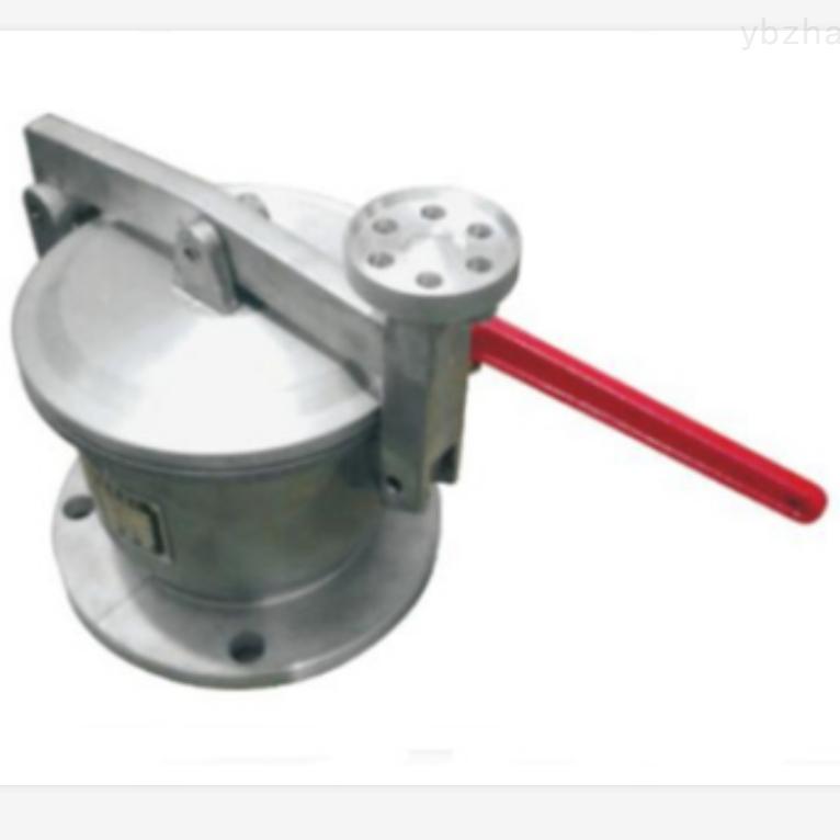 一体式球阀量油孔加油站双密封量油孔 球阀式量油孔