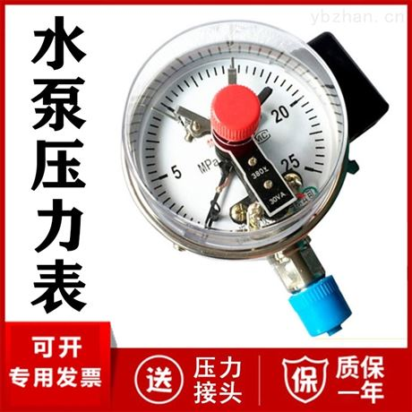 不锈钢隔膜压力表厂家价格  DN25 DN50