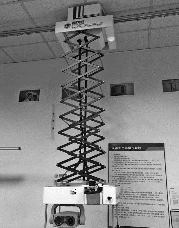 轨道式GIS/GIL智能带电检测机器人系统通过试运行
