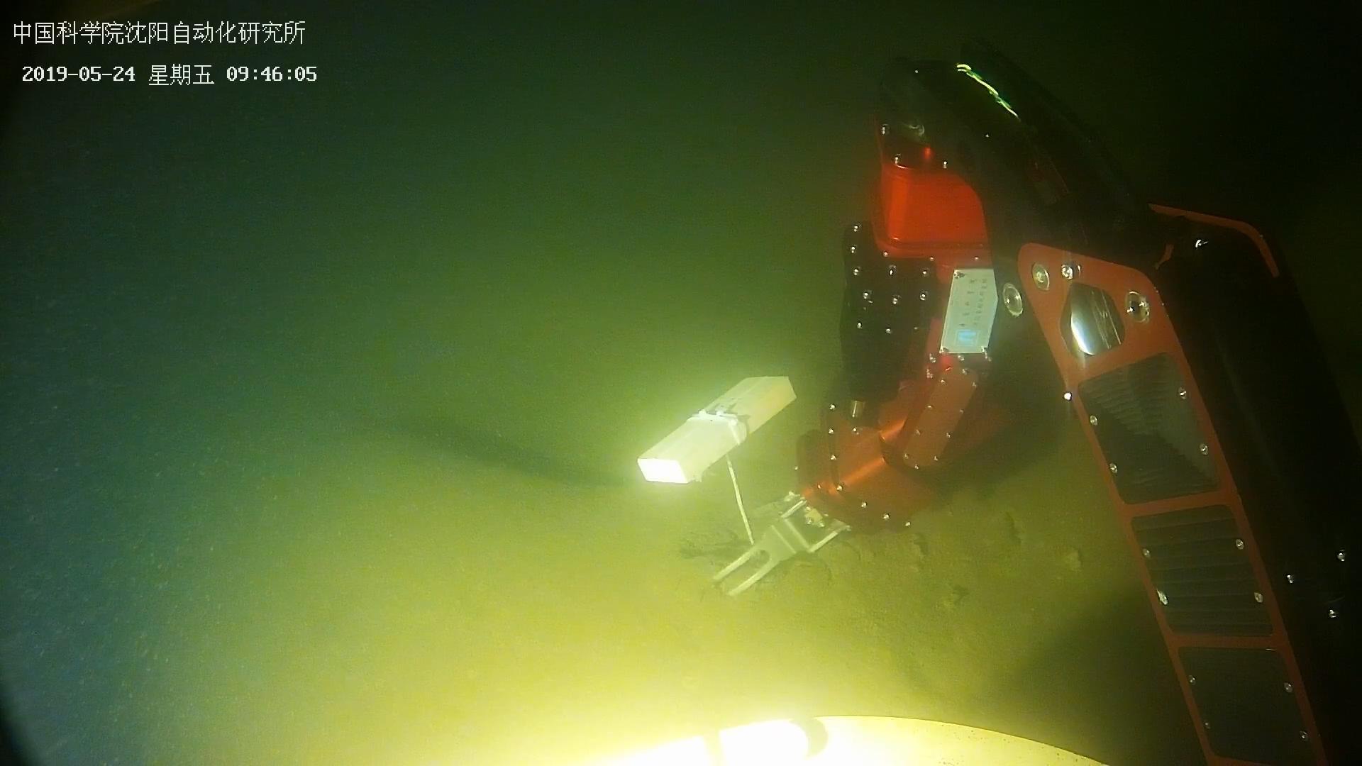 """""""海斗一号""""全海深自主遥控水下机器人完成湖上试验"""