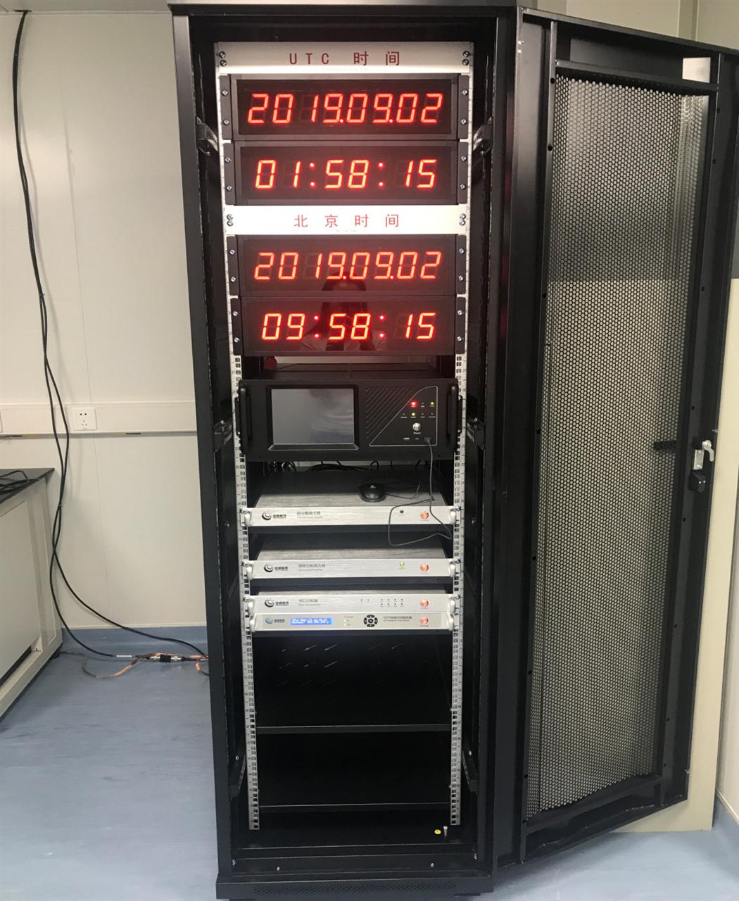 河南遠程站溯源驗證測試及應用示范項目標準裝置試運行