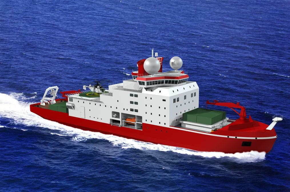 """""""雪龍2""""號遠征南極 儀器儀表保駕護航"""