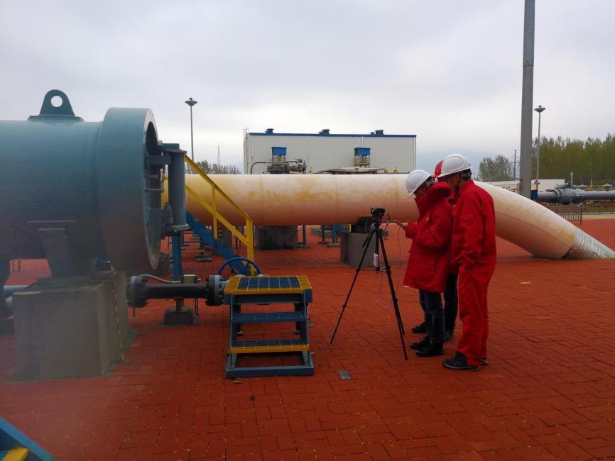 巨哥電子推出氣體檢測成像儀