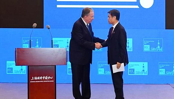 中國專家舒印彪首次擔任IEC最高領導職務