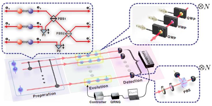 中科大實驗實現噪聲適應的量子精密測量