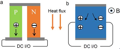 拓扑半金属的大横向热电效应和潜在应用研究获进展