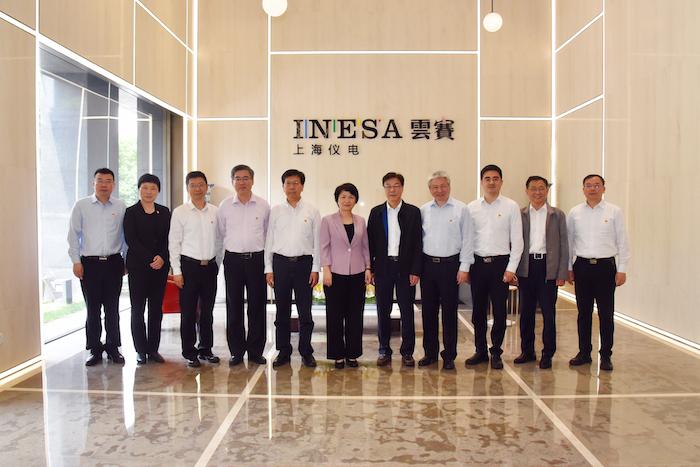 上海儀電與華東師范大學舉行黨委聯合中心組學習