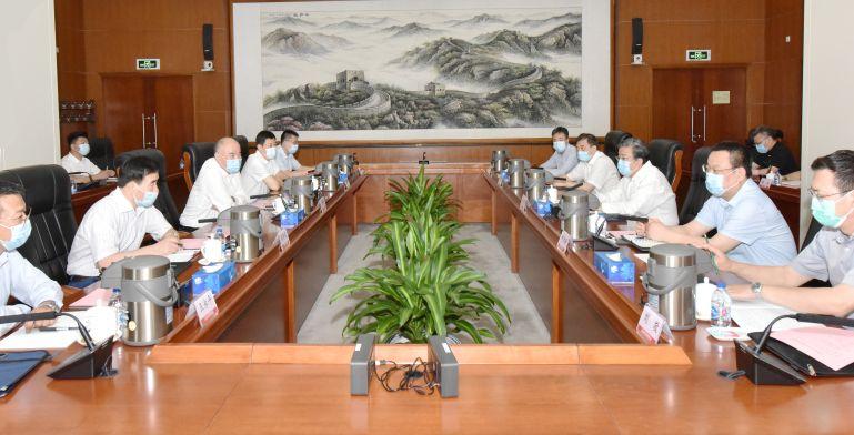 中核集團與中國安能會談:共同開拓國內外市場
