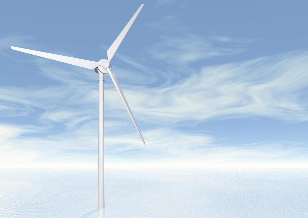 半潛式基座浮式風電場即將竣工