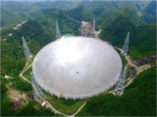 500米口径球面射电望远镜通过工艺验收