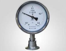 不锈钢精密隔膜压力表