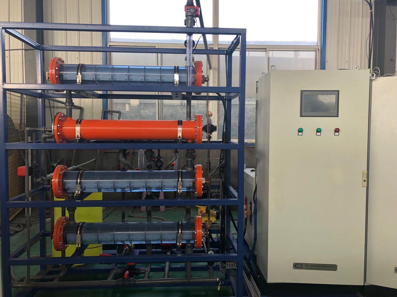 甘肅污水廠處理消毒設備廠家/次氯酸鈉發生器案例