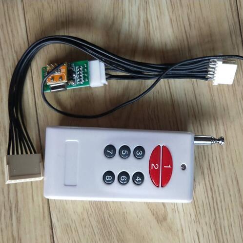 齊齊哈爾地磅無線控制器的實景圖