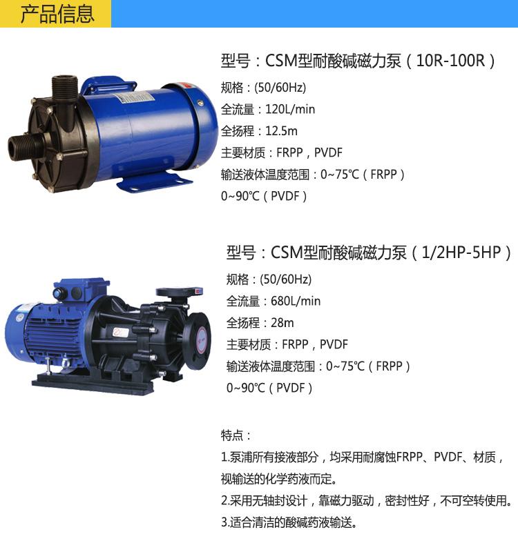 CSM磁力循环泵
